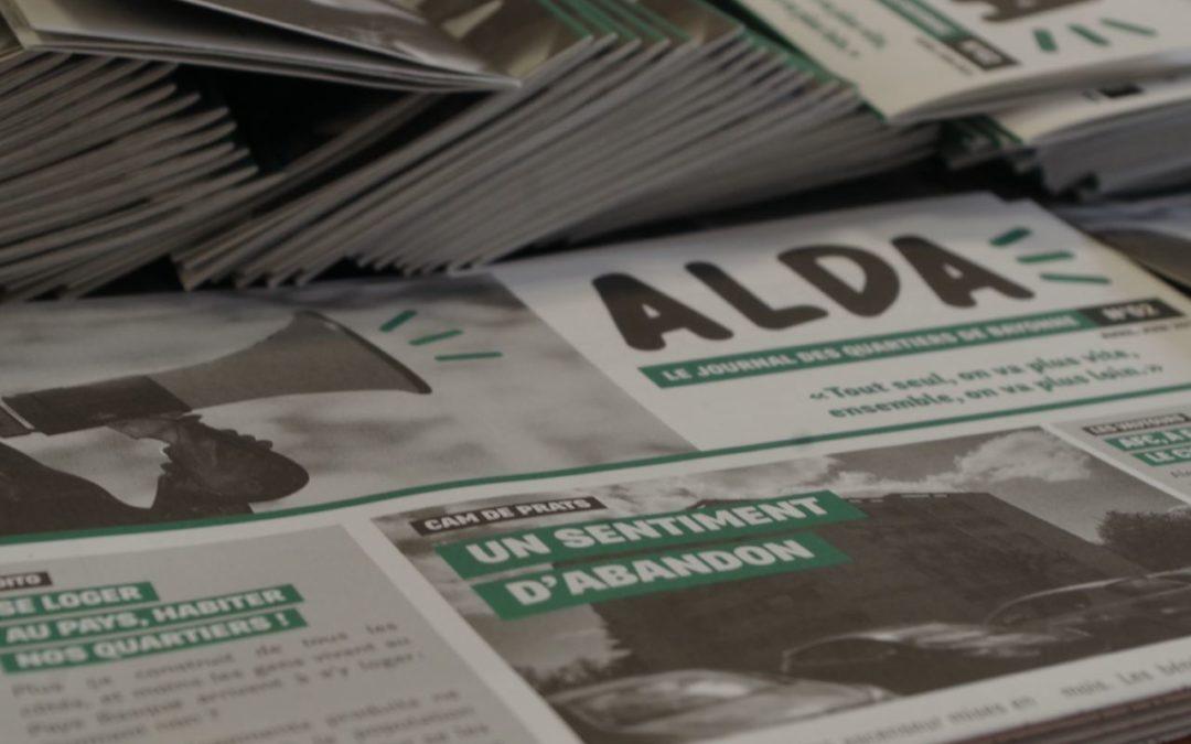Le numéro 2 du journal Alda est sorti !