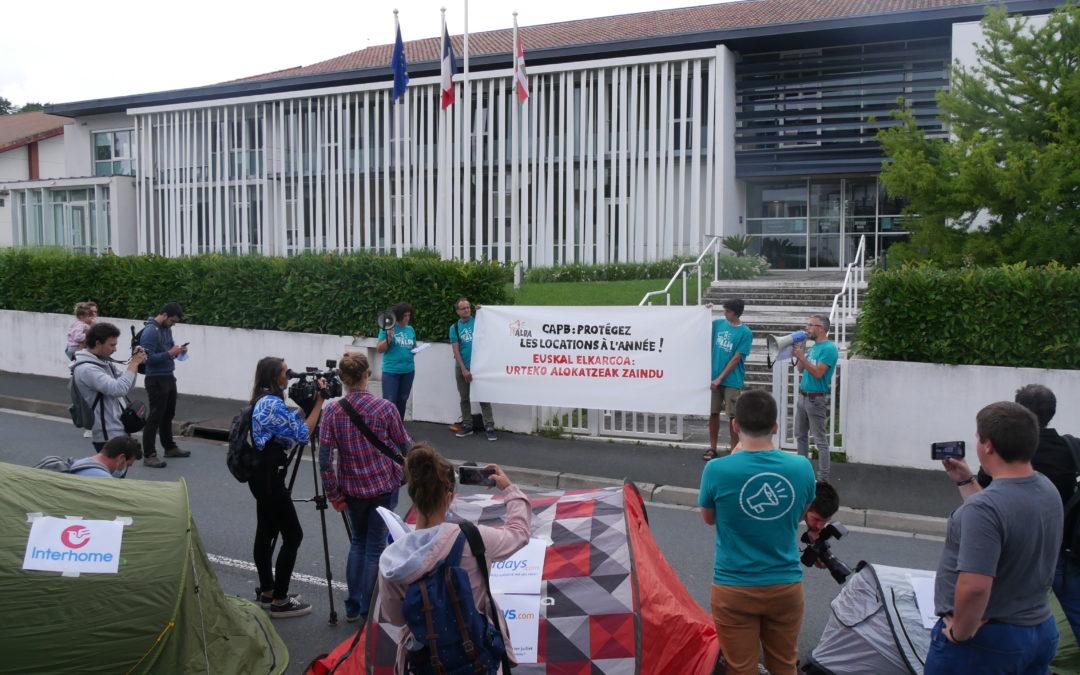 Nouvelle action d'Alda contre  la prolifération des meublés touristiques permanents